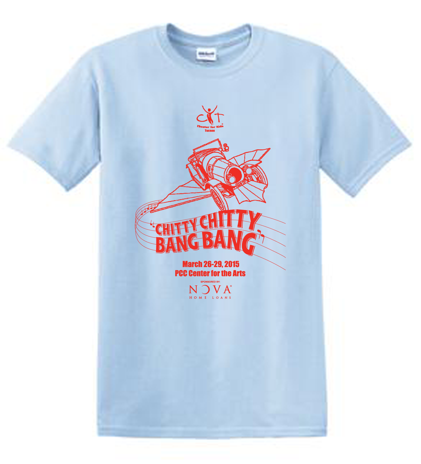 Chitty chitty bang bang t shirt