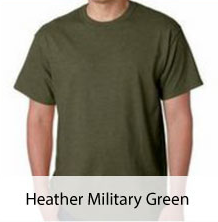 Heather Military Green T-shirt