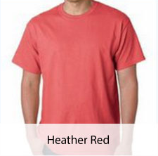 Heather Red T-shirt